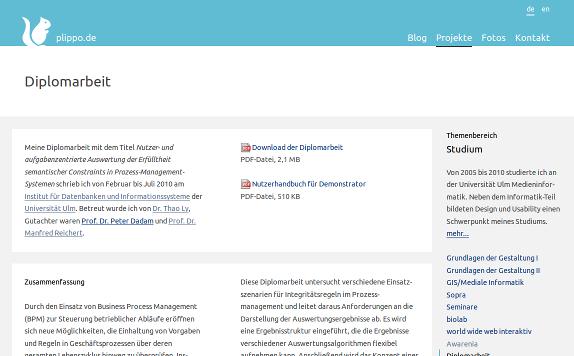 About this website – plippo de (Version 3) - plippo de